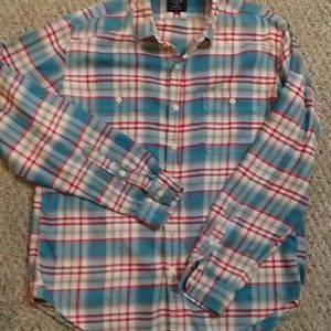 J.CREW Mens Flannel Work Shirt